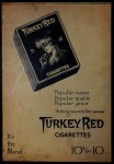 1910 T3 Turkey Red #123  Ira Thomas   Back Thumbnail
