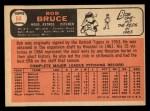1966 Topps #64  Bob Bruce  Back Thumbnail