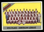 1966 Topps #303 ^DOT^  Indians Team Front Thumbnail