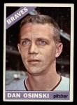 1966 Topps #168  Dan Osinski  Front Thumbnail