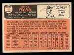1966 Topps #419  Mike Ryan  Back Thumbnail