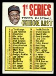 1967 Topps #62 A  -  Frank Robinson Checklist 1 Front Thumbnail