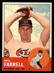 1963 Topps #277  Dick Farrell  Front Thumbnail