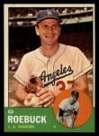1963 Topps #295  Ed Roebuck  Front Thumbnail