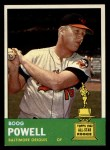1963 Topps #398  Boog Powell  Front Thumbnail