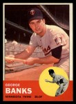 1963 Topps #564  George Banks  Front Thumbnail