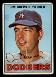 1967 Topps #31  Jim Brewer  Front Thumbnail