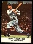 1961 Golden Press #4  Hank Greenberg  Front Thumbnail