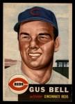 1953 Topps #118  Gus Bell  Front Thumbnail
