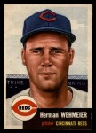 1953 Topps #110  Herm Wehmeier  Front Thumbnail