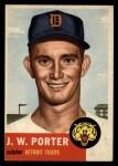 1953 Topps #211  J.W. Porter  Front Thumbnail