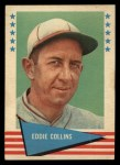 1961 Fleer #16  Eddie Collins  Front Thumbnail