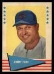 1961 Fleer #28  Jimmie Foxx  Front Thumbnail