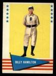 1961 Fleer #112  Billy Hamilton  Front Thumbnail