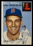 1954 Topps #144  Bill Werle  Front Thumbnail