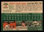1954 Topps #24  Granny Hamner  Back Thumbnail