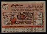 1958 Topps #96  Joe Durham  Back Thumbnail