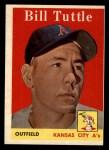 1958 Topps #23 WN Bill Tuttle  Front Thumbnail