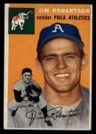 1954 Topps #149  Jim Robertson  Front Thumbnail