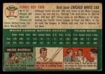 1954 Topps #27  Ferris Fain  Back Thumbnail