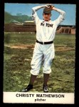 1961 Golden Press #24  Christy Mathewson  Front Thumbnail