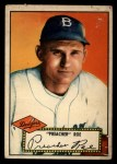 1952 Topps #66 RED Preacher Roe  Front Thumbnail