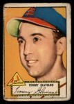 1952 Topps #56  Tommy Glaviano  Front Thumbnail