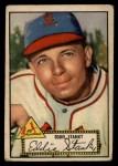 1952 Topps #76  Eddie Stanky  Front Thumbnail