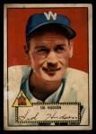 1952 Topps #60  Sid Hudson  Front Thumbnail