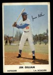 1961 Bell Brand Dodgers #19  Jim Gilliam  Front Thumbnail
