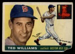 1955 Topps #2  Ted Williams  Front Thumbnail