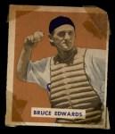 1949 Bowman #206  Bruce Edwards  Front Thumbnail