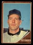 1962 Topps #227  Bob Tiefenauer  Front Thumbnail