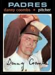 1971 Topps #126  Dan Coombs  Front Thumbnail