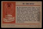 1954 Bowman Power for Peace #82   The Coke Bottle Back Thumbnail