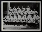 1936 National Chicle Premiums #17 GLS  Detroit Tigers Team 1934  Front Thumbnail
