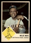 1963 Fleer #5  Willie Mays  Front Thumbnail