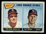 1965 Topps #486   -  Tom Egan / Pat Rogan Angels Rookies Front Thumbnail