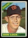 1966 Topps #165  Don Lock  Front Thumbnail