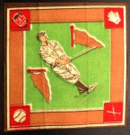 1914 B18 Blankets #26 GI Roger Peckinpaugh   Back Thumbnail