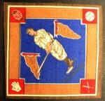 1914 B18 Blankets #26 BLU Roger Peckinpaugh   Front Thumbnail