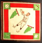 1914 B18 Blankets #46  Howard Shanks  Back Thumbnail