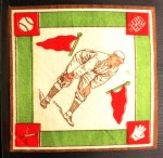 1914 B18 Blankets #68  Eddie Grant  Back Thumbnail