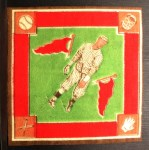 1914 B18 Blankets #63 GI Bull Wagner   Back Thumbnail