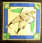 1914 B18 Blankets #54 WI Lefty Tyler   Back Thumbnail