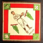 1914 B18 Blankets #44  Danny Moeller  Front Thumbnail
