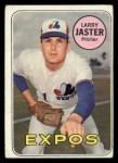 1969 Topps #496  Larry Jaster  Front Thumbnail