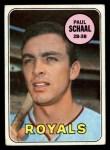 1969 Topps #352  Paul Schaal  Front Thumbnail