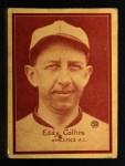1931 W517 #52  Eddie Collins  Front Thumbnail