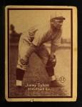 1931 W517 #22  Jimmy Dykes  Front Thumbnail